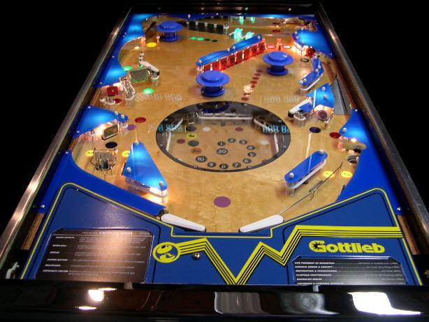 Critical Mass prototype pinball machine